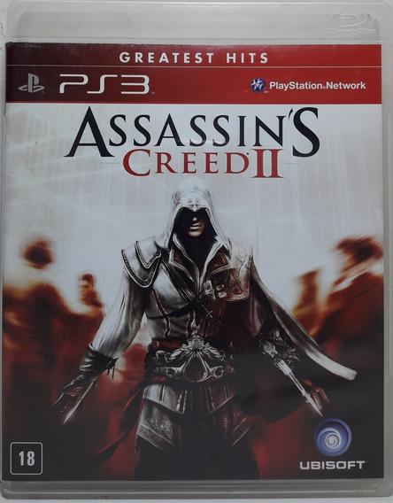 Jogo De Ps3 Assassins Creed 2 Greatest Hits Em Mídia Física