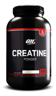 Creatine Powder 300g Monohidrato On Black Line 100 Servicios