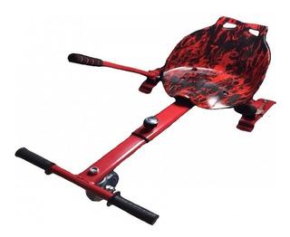 Hover Kart Carrinho Hoverboard Skate 6.5 / 10 Poleg Vermelho