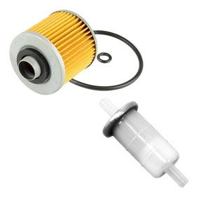 Combo Filtro De Gasolina Drag Star 650 (10mm)+filtro De Óleo