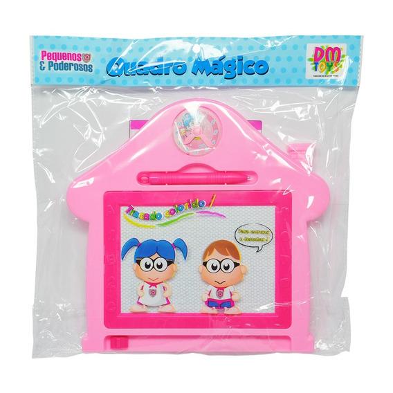 Quadro Mágico Casa 24cm Dm Toys Brinquedo Crianças