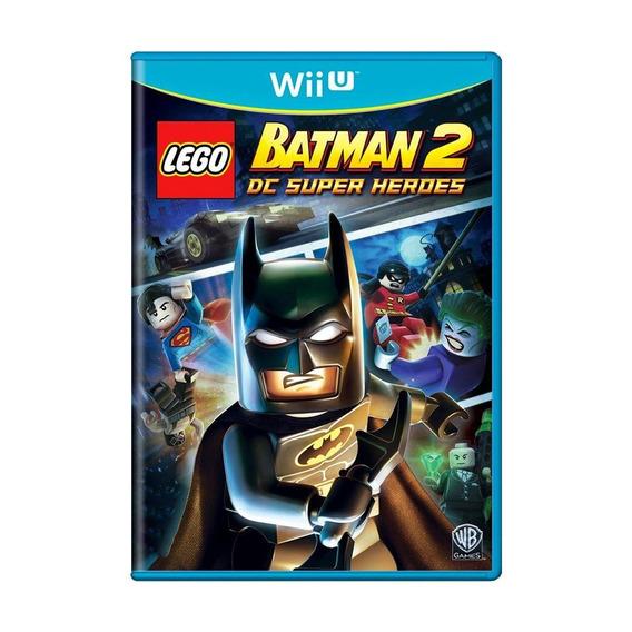 Lego Batman 2 Dc Super Heroes Wii U Mídia Física