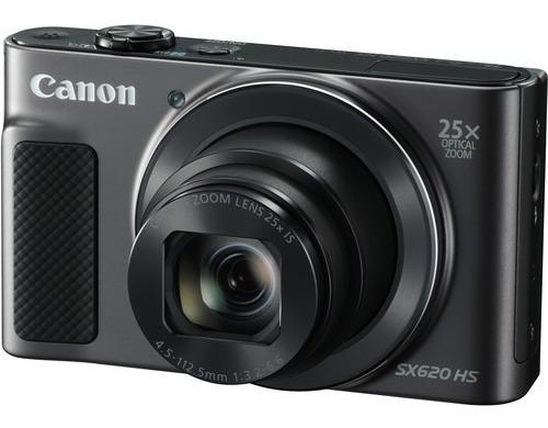 Câmera Canon Powershot Sx620 Hs 20.2mp 25x Preta 12x S/juros