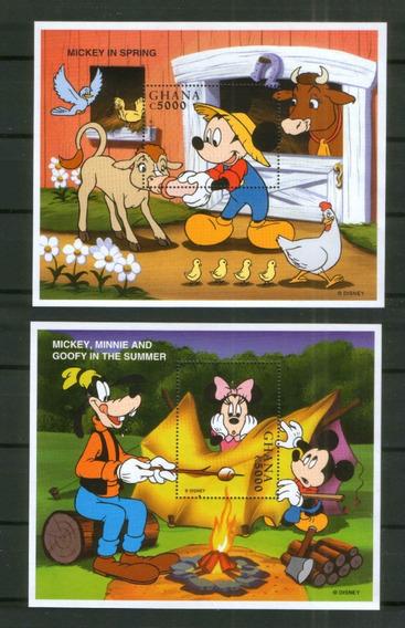 1998 Disney- Mickey Goofy- Animales - Ghana