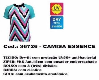 Camisa De Ciclismo Feminina Ciclopp Essence P Frete Grátis