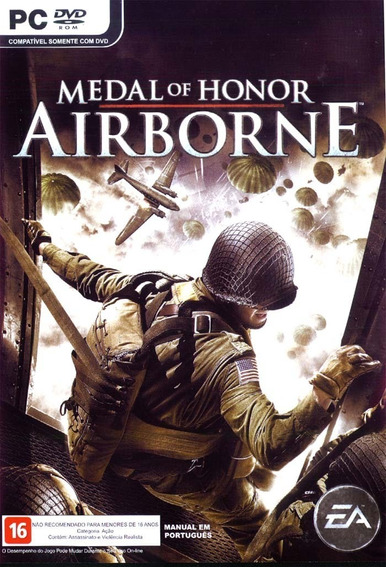Medal Of Honor: Airborne - Pc Mídia Digital