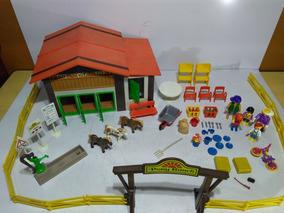 Fazenda Rancho Antigo Bem Raro Playmobil Ler Anuncio