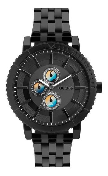 Relógio Touch Unissex Grafite Tw6p27ad/4p