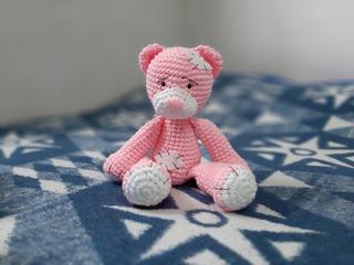 Oso Teddy Amigurumi