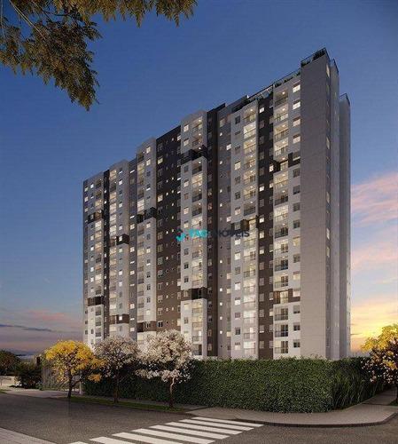 Imagem 1 de 10 de Apartamento Com 2 Dormitórios À Venda, 56 M² Por R$ 492.880,00 - Bonfim - Campinas/sp - Ap2772