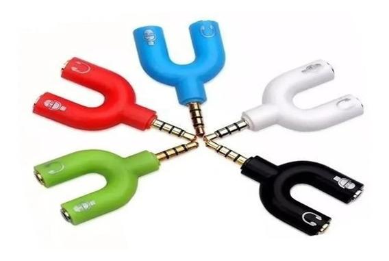 Adaptador P3 (p2 Combo) Para Fone E Microfone Headset