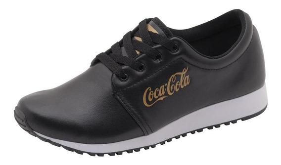 Tenis Coca Cola Feminino Hasan Caminhada Academia Barato