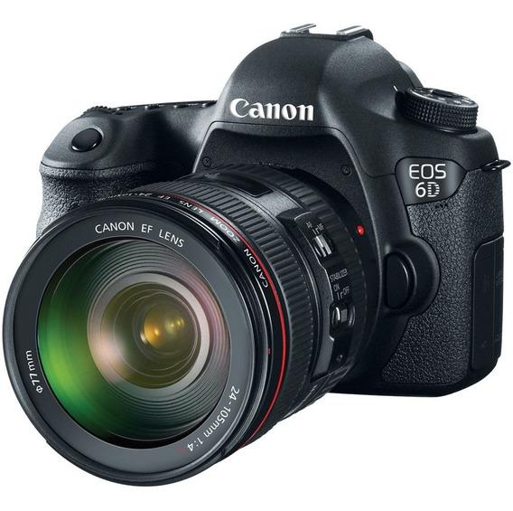 Câmera Canon 6d Eos