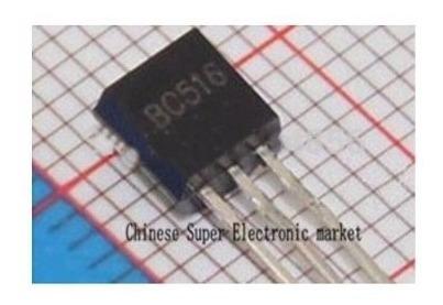 Bc516 + Bc517 Npn Transistor Pnp To-92 Potencia Pack X 5