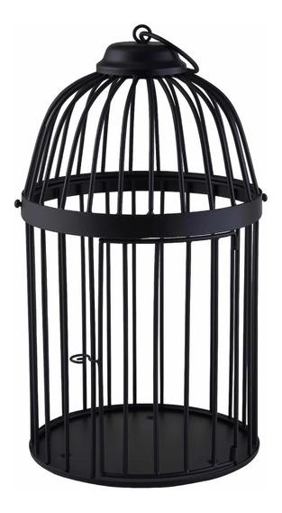 Jaula Decorativa Color Negro Cage Black Jaula Decorativa