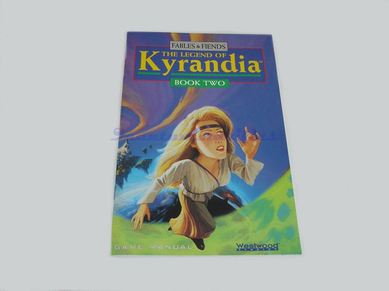 Manual Jogo Cdrom The Legend Of Kyrandia Book 2 Westwood