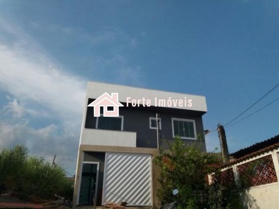 If422 Casa Duplex Em Excelente Localização C/ 2 Qts - Cg/rj