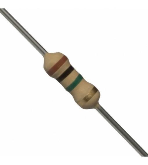 Resistor Carbono De 1/4w- 1m - 100 Peças