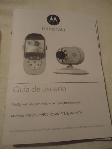 Monitor De Bebe Motorola Modelo Mbp27t