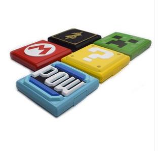 Estuche Para Juegos Game Card Nintendo Switch Varios Diseños