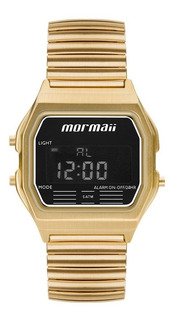 Relógio Mormaii Feminino Dourado Digital Mojh02au/4d