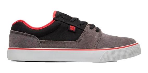 Dc Zapatillas Lifestyle Hombre Tonik Gris-negro-rojo