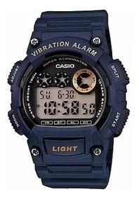 Relógio Casio Masculino Original W-735h-2avdf Com Nota