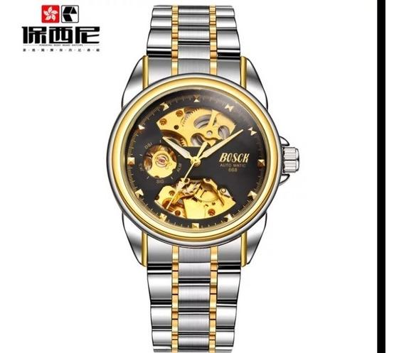 Relógio Semi Automatico Bosck Mecânico De 149.90 Por