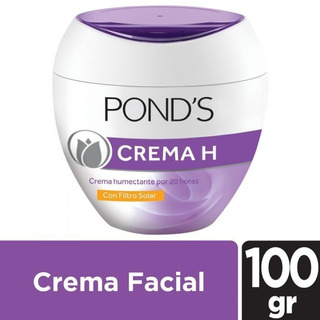 Crema Ponds H Humectante Con Filtro Solar X 100 Grs