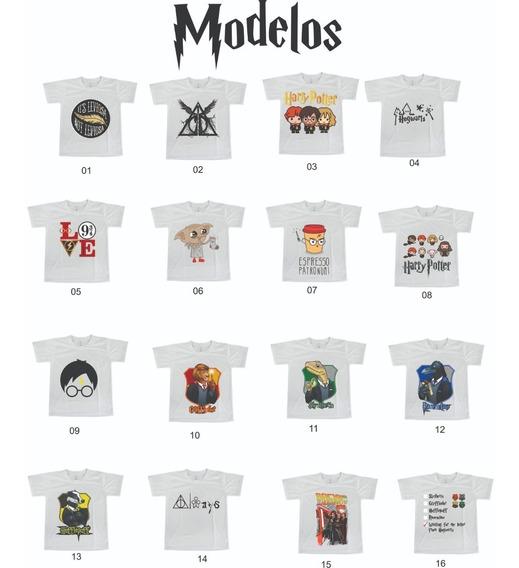Camiseta Harry Potter - Escolha Seu Modelo