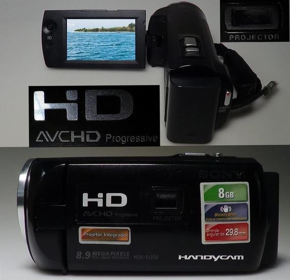Filmadora Sony Hdr-pj230 Projetor Foto 8.9mp