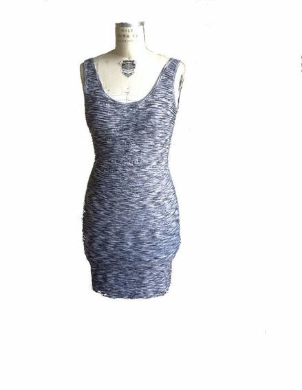 Solera Vestido Corto Elastizado De Usa Sirve Desde S Al L