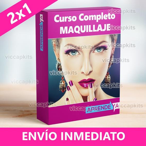 Curso De Maquillaje Profesional + Maquillaje Infantil + Uñas