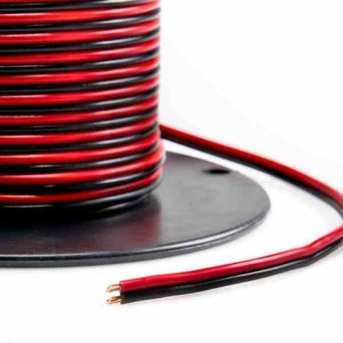 Imagen 1 de 1 de Cable Duplex Audio Calibre 14 Rojo/negro Rollo 100 Metros