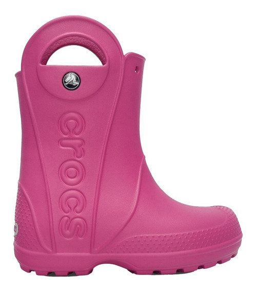 Galocha Crocs Infantil Handle Pink