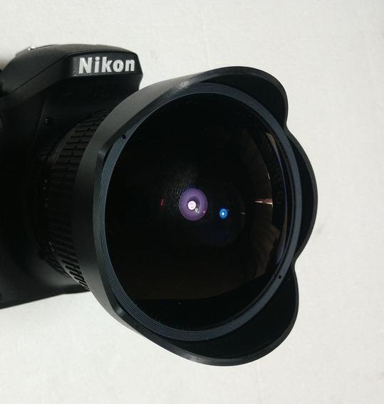 Lente Rokinon Fish-eye 8mm - Nikon