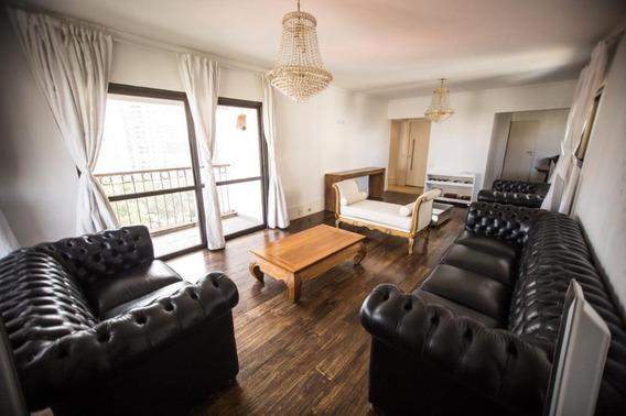 Apartamento Em Morumbi, São Paulo/sp De 175m² 4 Quartos Para Locação R$ 4.500,00/mes - Ap330623
