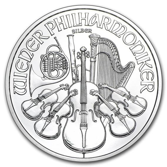 Moneda Austria Filarmonica 2019 1 Onza Plata 99,99%