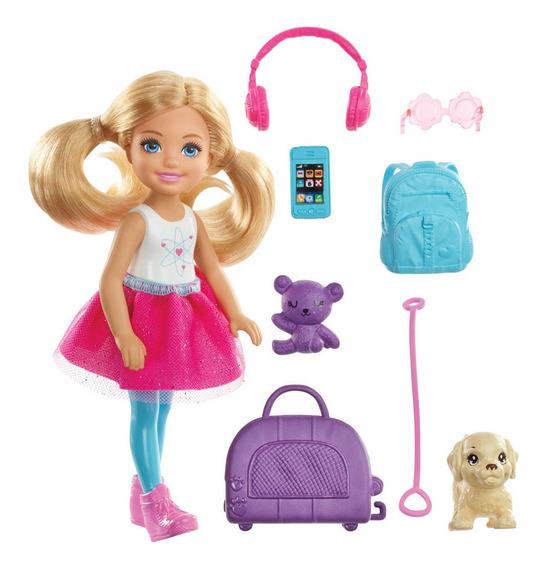 Mini Boneca - 16cm - Barbie - Explorar E Descobrir - Chelse