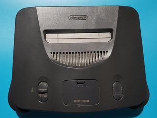 Nintendo 64 Con Jumper Pak (solo Consola)