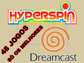 Hyperspin Dreamcast Com 48 Jogos - Só Os Melhores