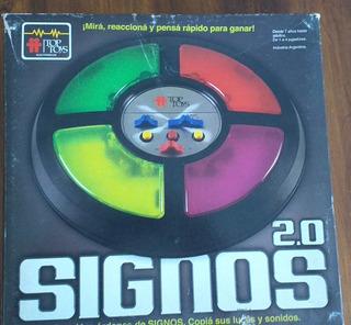 Signos 2.0 Top Toys Juego De Memoria!!!!! Funciona Perfecto