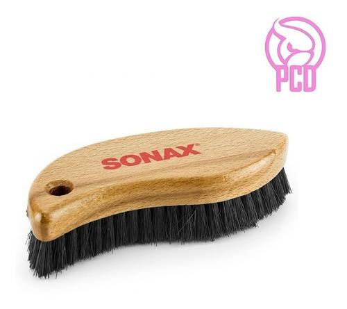 Imagen 1 de 4 de Sonax Cepillo Para Tejido Y Cuero Limpieza Interior - Pcd