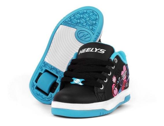 Tenis Patín Heelys Para Niña Girls Style De Una Rueda