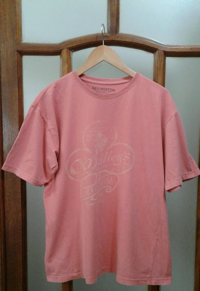 Remera Hombre Kevingston Talle L Coral Excelente Impecable
