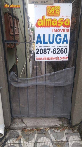 Imagem 1 de 24 de Casa Com 1 Dormitório Para Alugar, 20 M² Por R$ 400,00/mês - Vila Antonieta - Guarulhos/sp - Ca0270