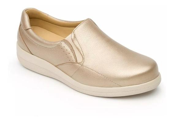 Zapato Flexi Dama 46702 Oro Diabetico