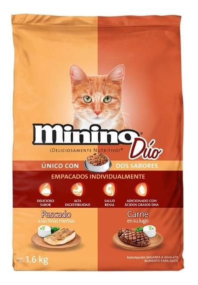 Minino Duo Alimento Para Gato 1.6 Kg