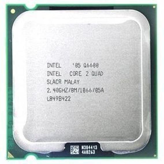 Processador Intel Quad Core Q6600 Core 2 Quad 2.4ghz 8mb Cache Socket 775 1066mhz