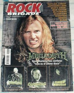Megadeth Marciello Judas Blind Guardian Rock Brigade 7